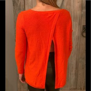Vibrant Open Back Sweater